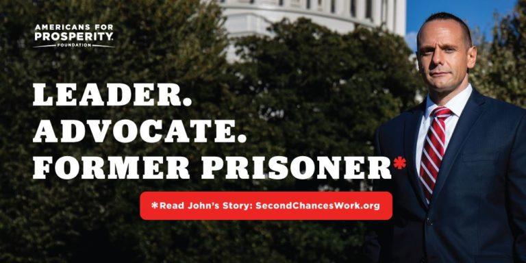 Meet John: Leader. Advocate. Former prisoner.