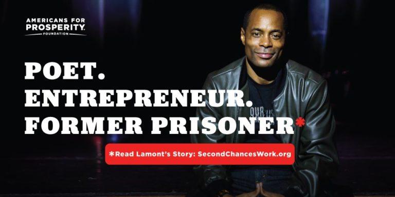 Meet Lamont: Poet. Entrepreneur. Former prisoner.